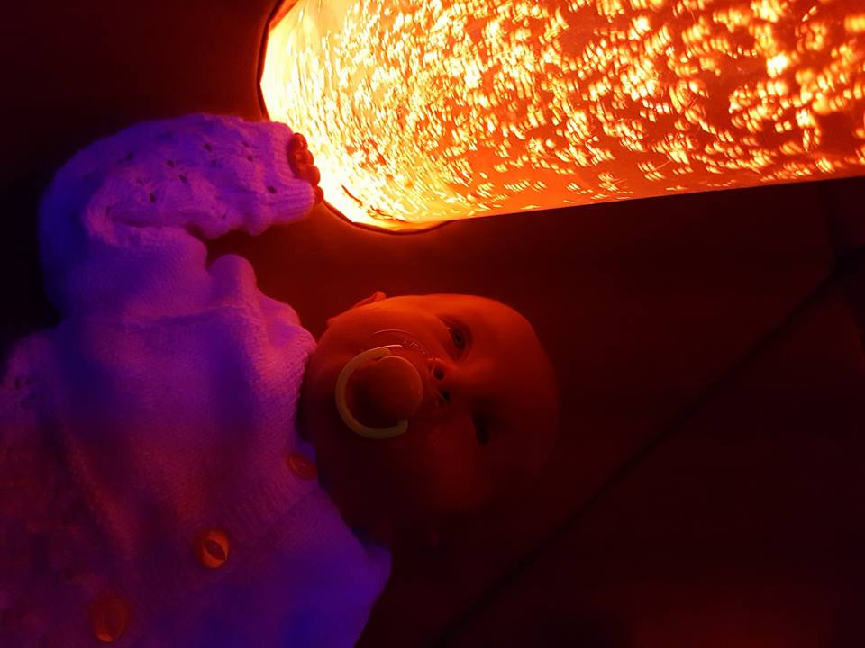 Our first sensory room adventure