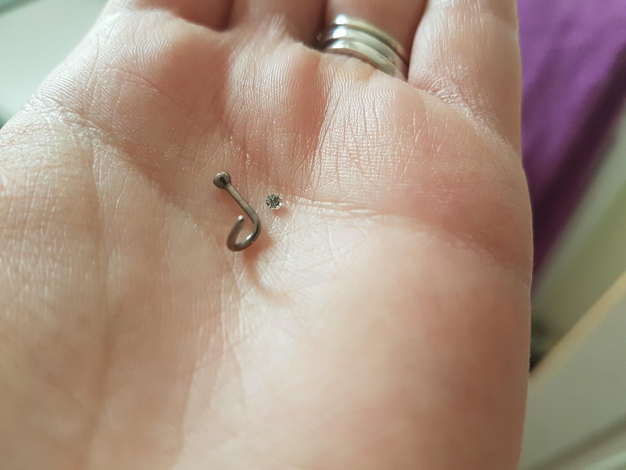 How Not To Remove A Corkscrew Nose Piercing In 20 Steps Autumns