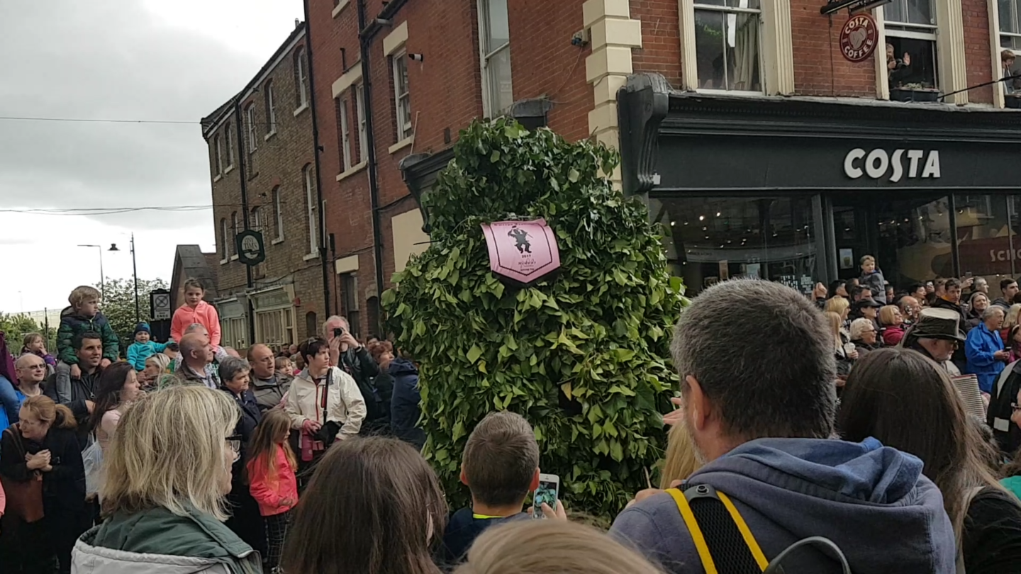 Jack o' the green, Rochester Sweeps Festival 2017