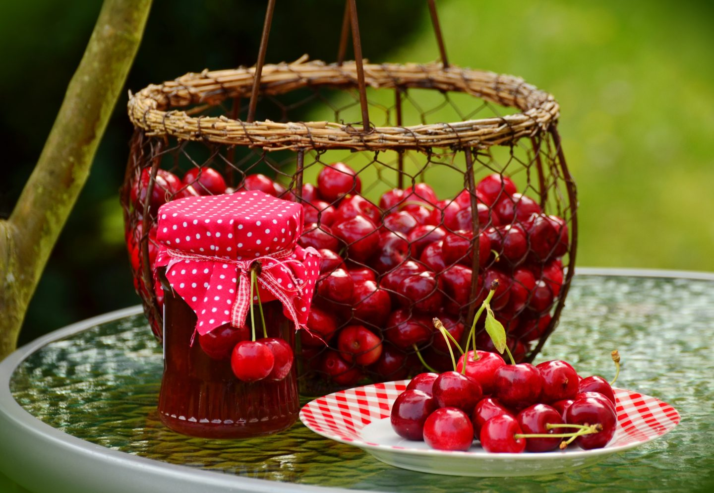 Cherry themed weddings