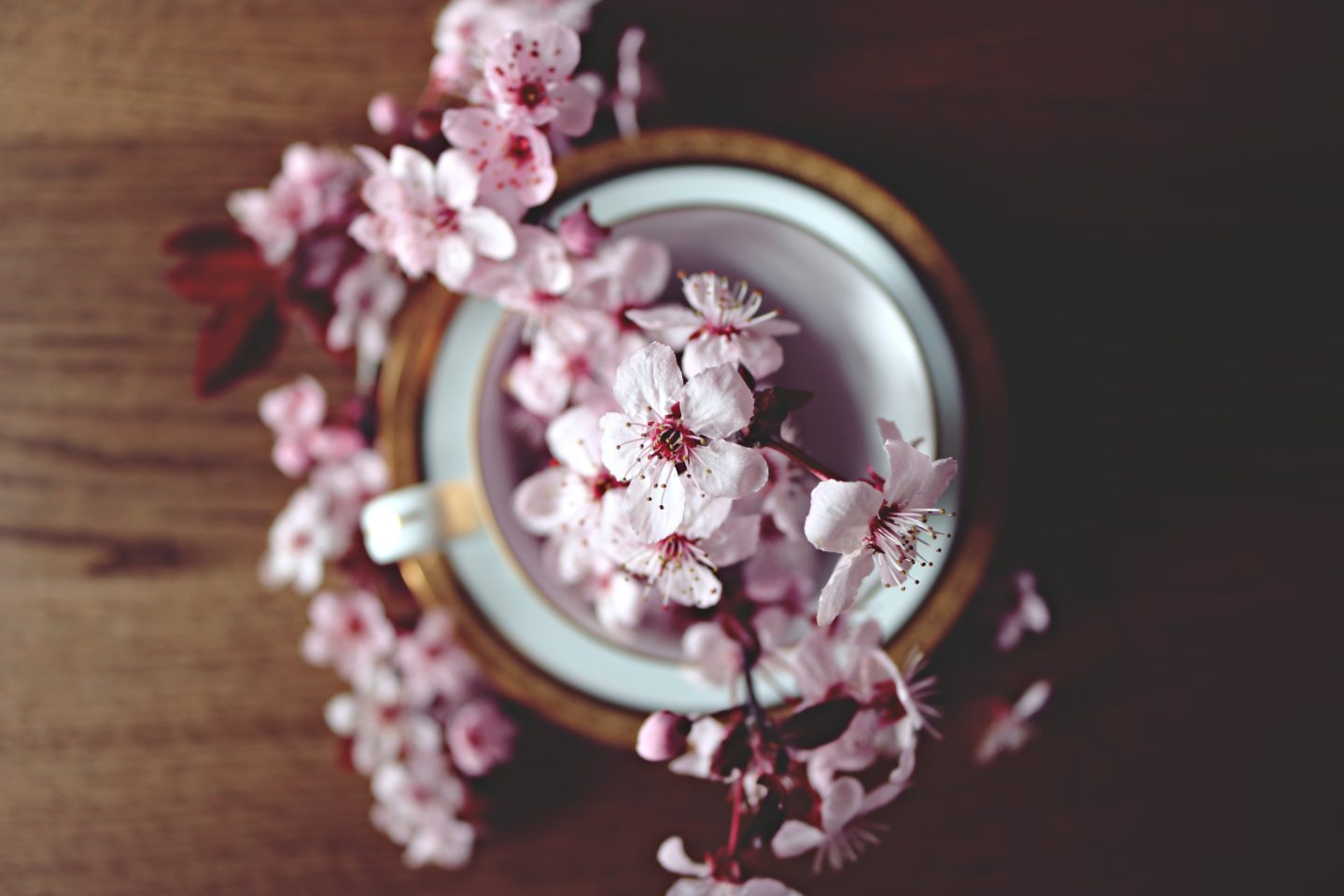 Cherry blossom table decoration