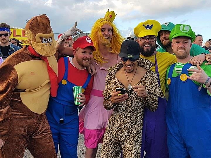 Mario Kart characters at Download