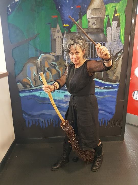 Bellatrix Lestrange at Strood Library