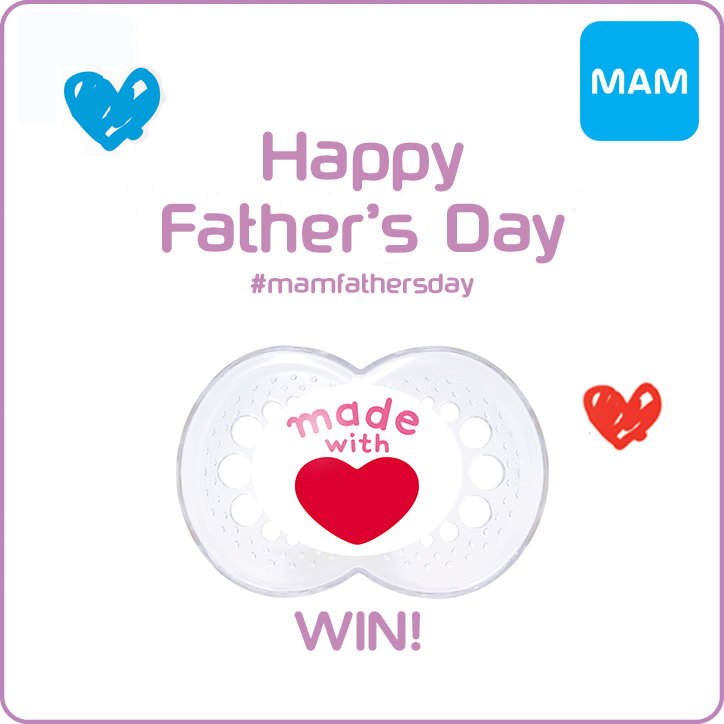 Father's Day MAM Soother Giveaway