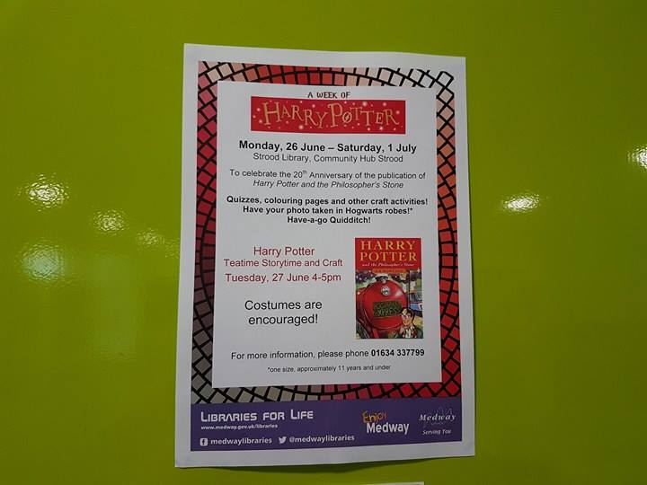 Harry Potter Strood Library