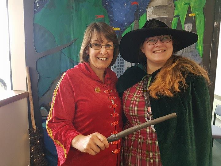 Celebrating 20 years of Harry Potter at Strood Library
