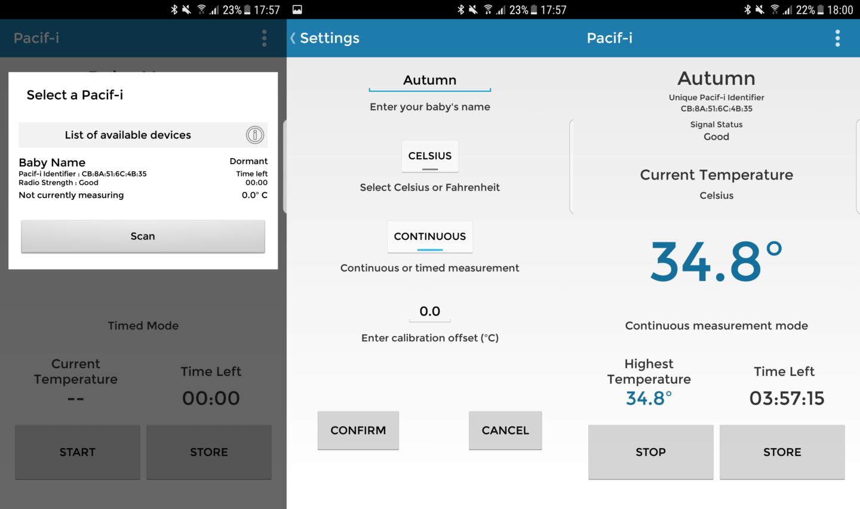 Pacif-i App - Smart Pacifier/Dummy