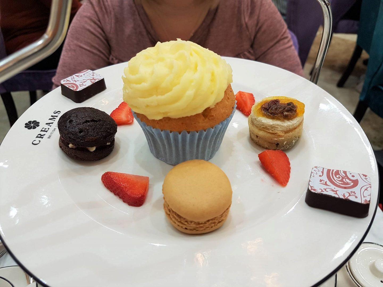 Cakes and patisserie, Creams British Luxury