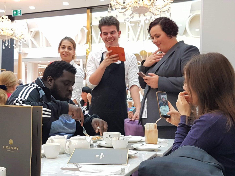 Freakshake challenge, Creams British Luxury