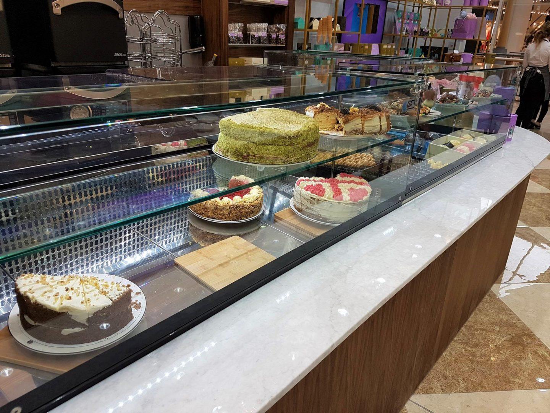 Cakes at Creams British Luxury