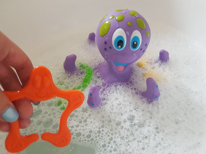 Nuby Octopus Bath Toy Aldi