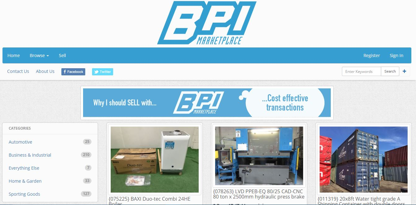 BPI Marketplace