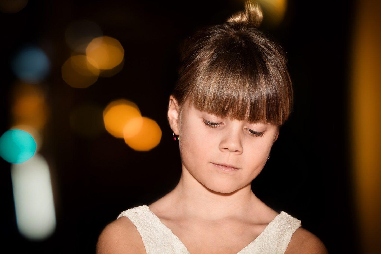Young Girl Ear Piercing