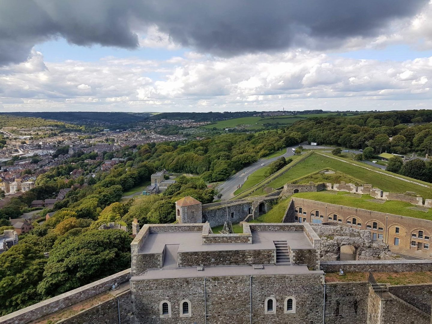 view-from-dover-castle-west