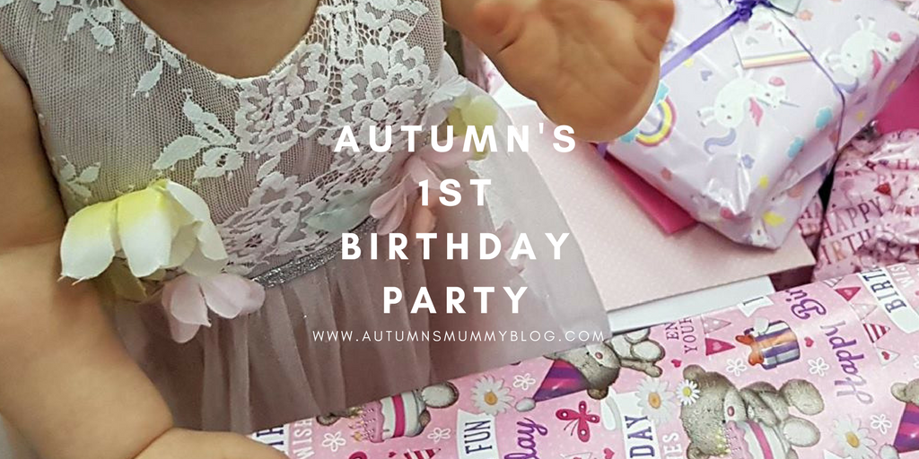 Autumn's 1st Birthday Party