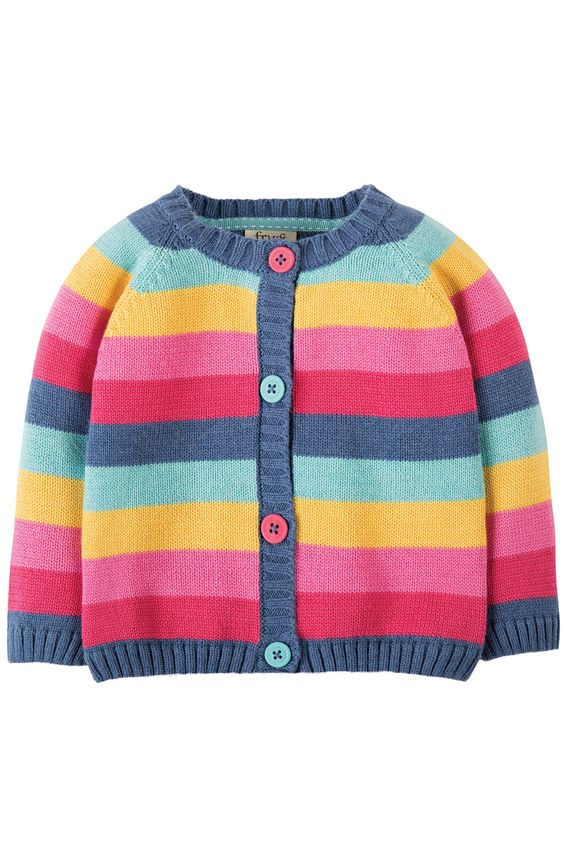Frugi Little Happy Day Cardigan