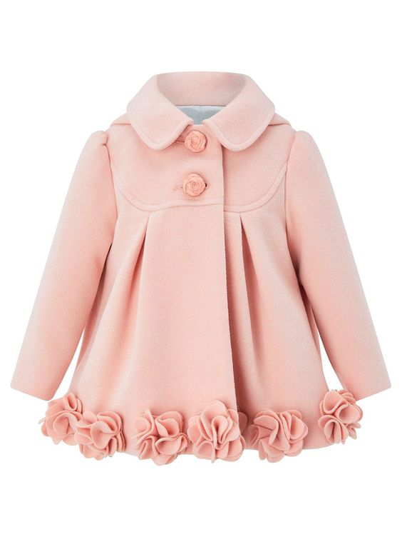 Monsoon Blush Coat