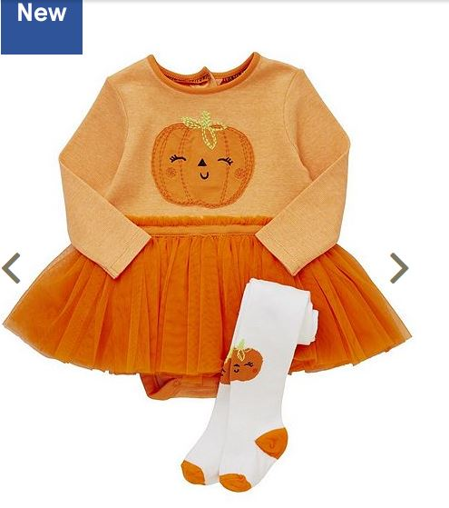 Tesco Pumpkin Tutu