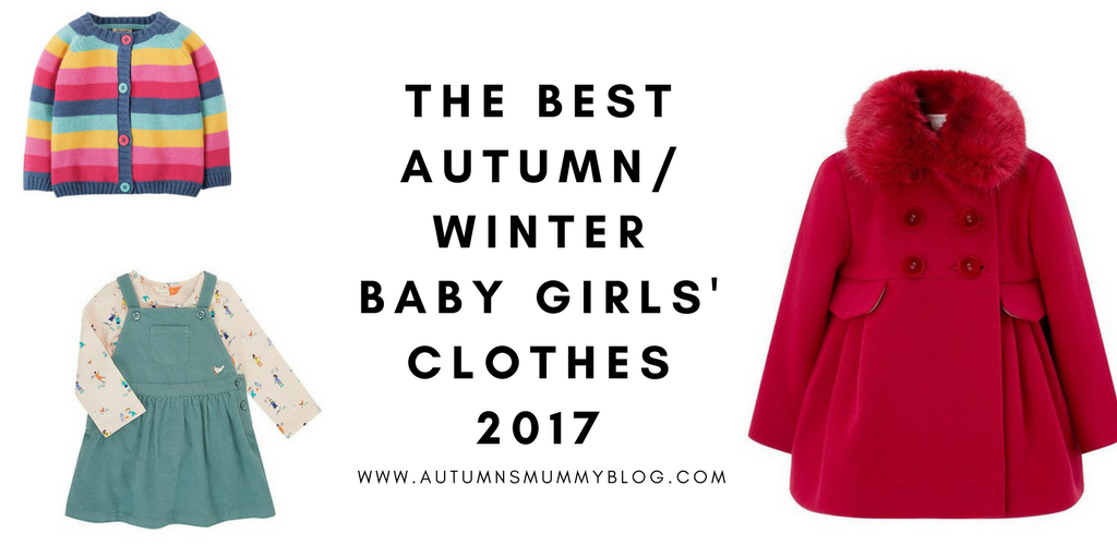 The best autumn/winter baby girls' clothes 2017