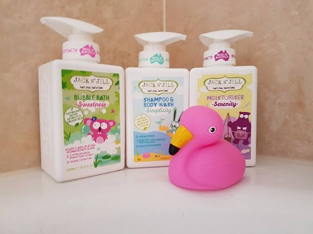 Jack N Jill Natural Bath Products Review