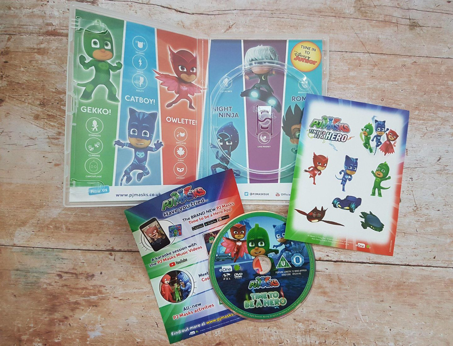 PJ Masks DVD Review