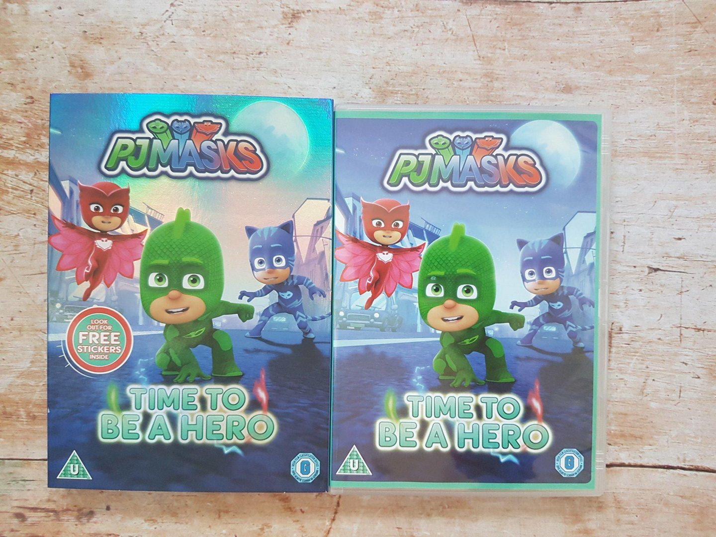 PJ Masks Time to be a Hero DVD Review