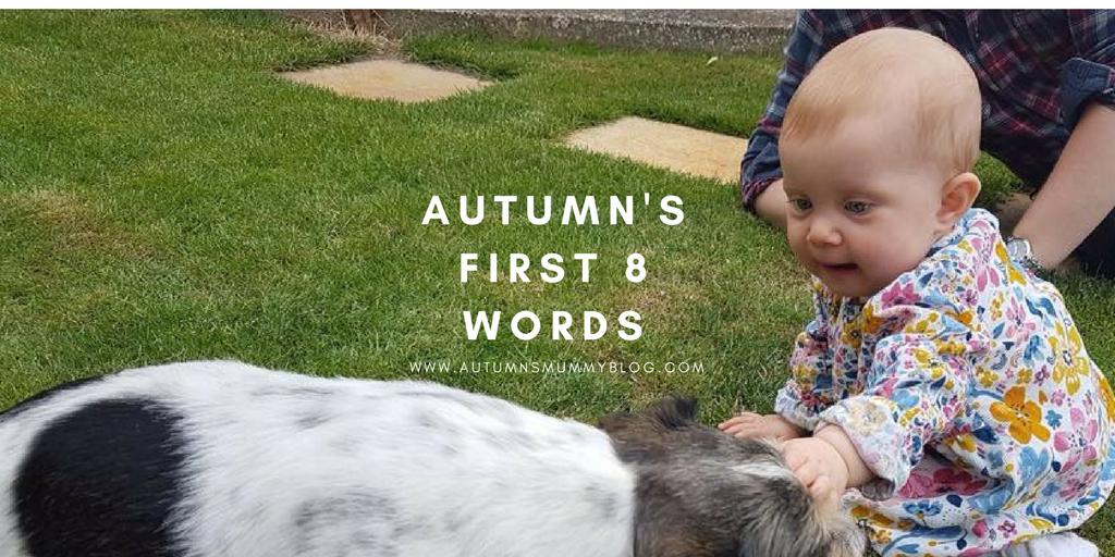 Autumn's first 8 words