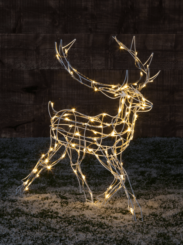 Magical Light Up Running Reindeer