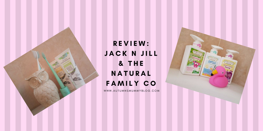 Review: Jack N Jill & The Natural Family Co