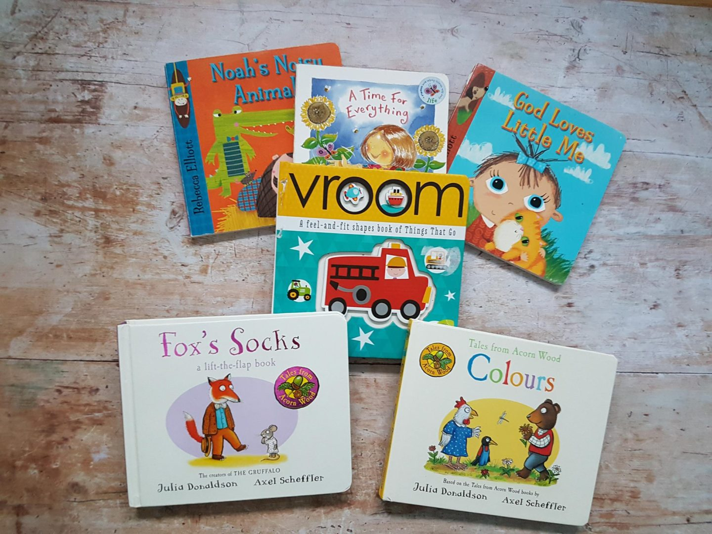 Books for babies and toddlers (including Christian books)