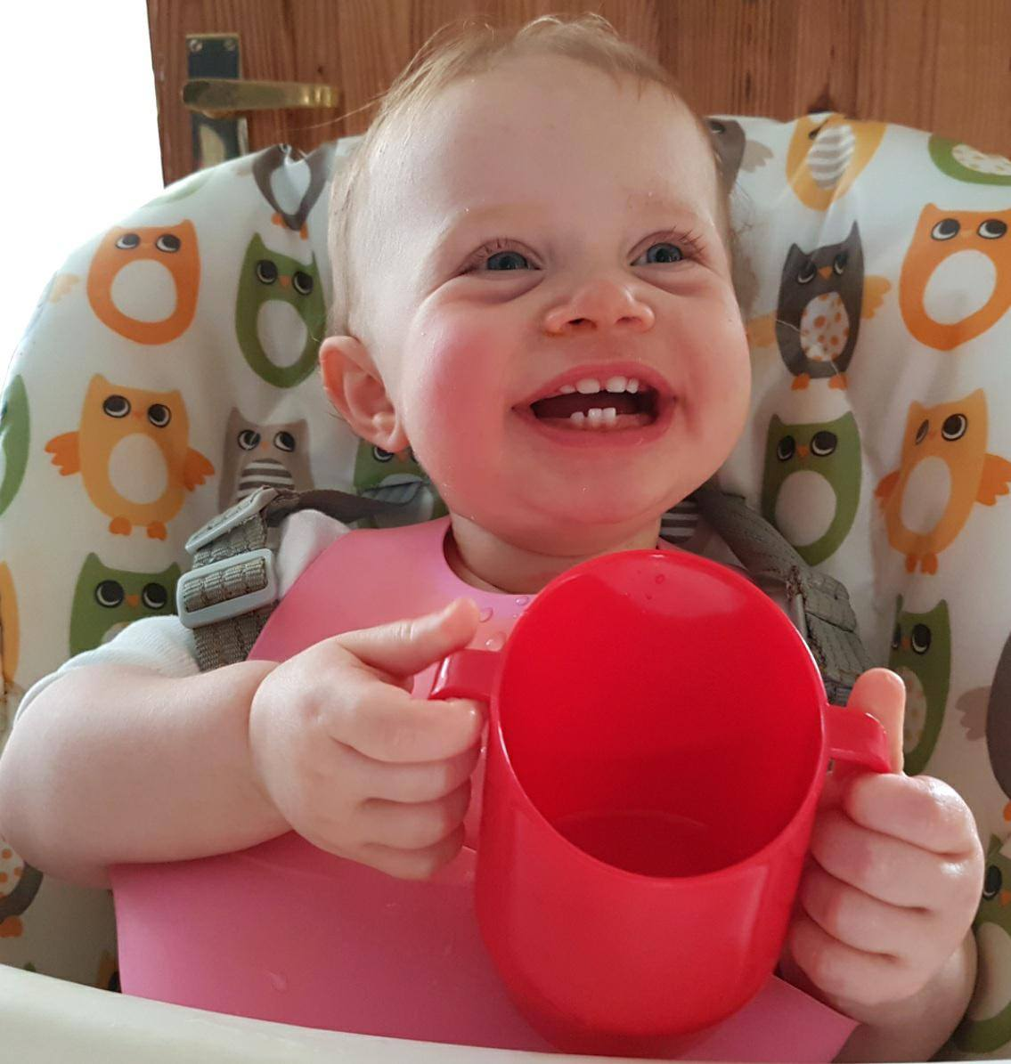 Doidy cups better for baby's teeth