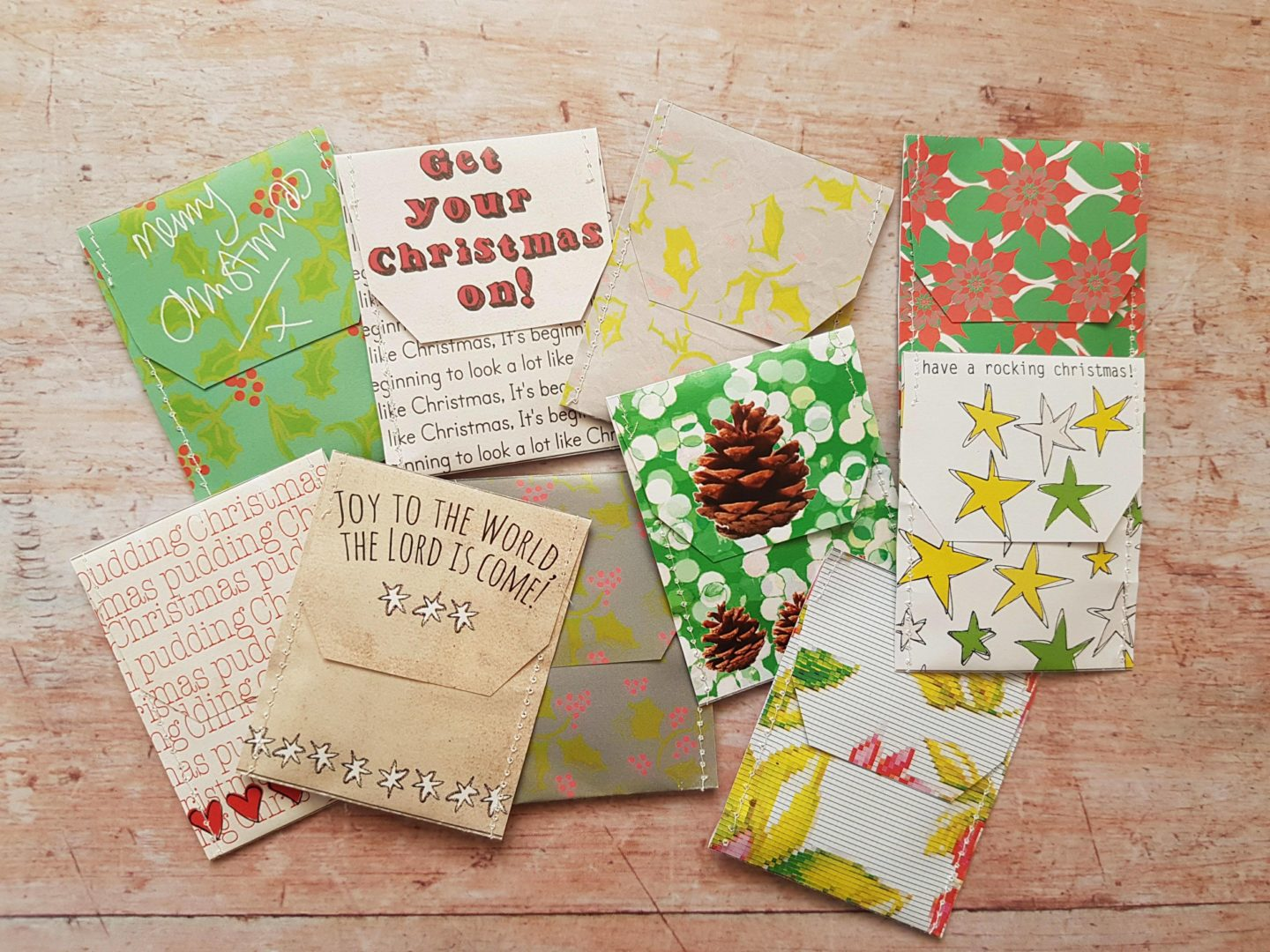 Victoria Mae Designs Christmas tea bags