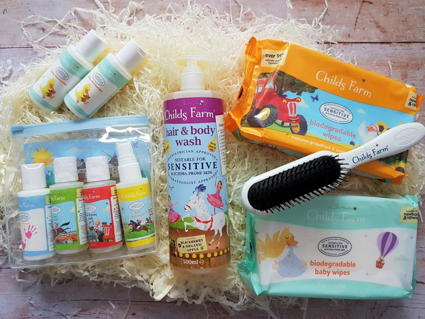 Child's Farm Gift Hamper - Skin and Bath Products