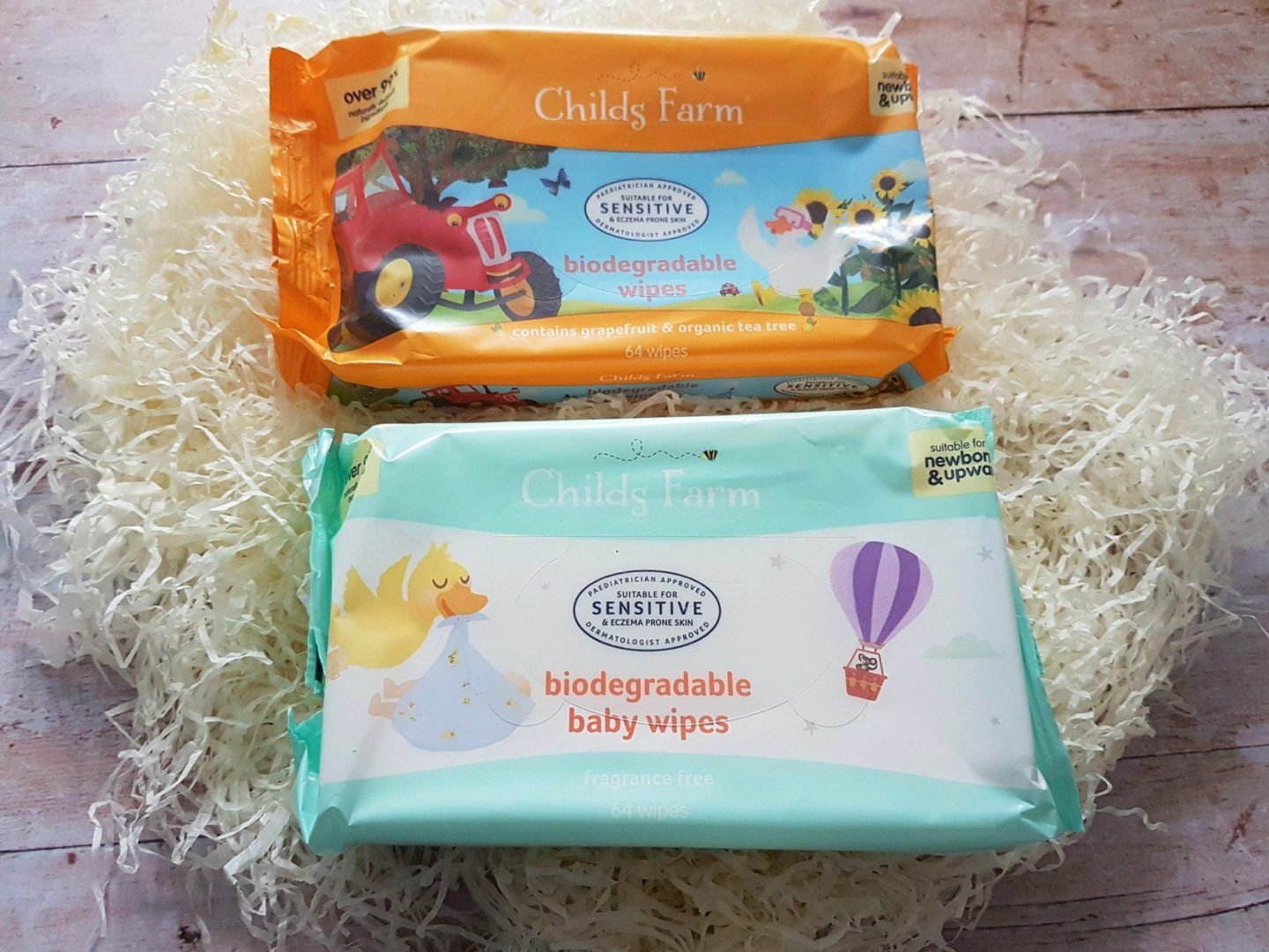 Childs Farm Biodegradable Baby Wipes