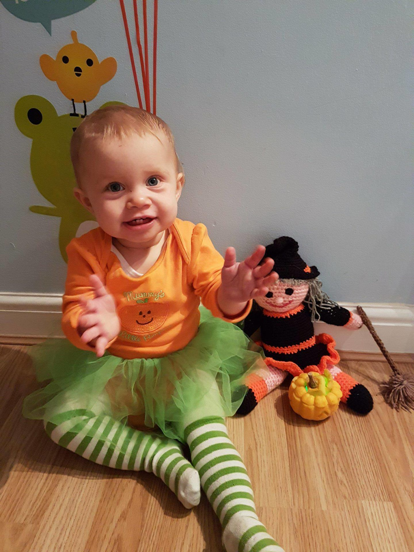 George Asda Mummy's Little Pumpkin Outfit