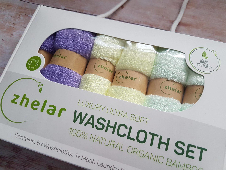 Zhelar organic bamboo washcloths