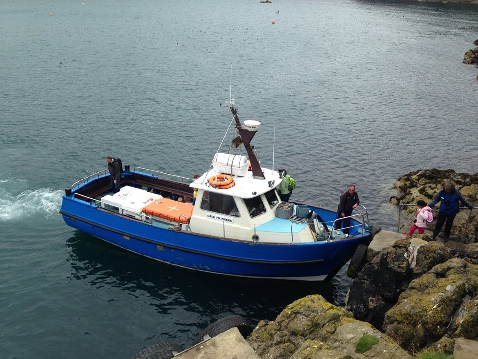 Dale Princess, boat to Skomer Island