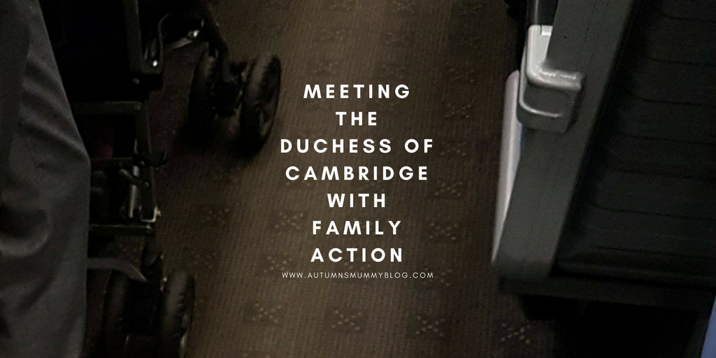 Meeting the Duchess of Cambridge with Family Action