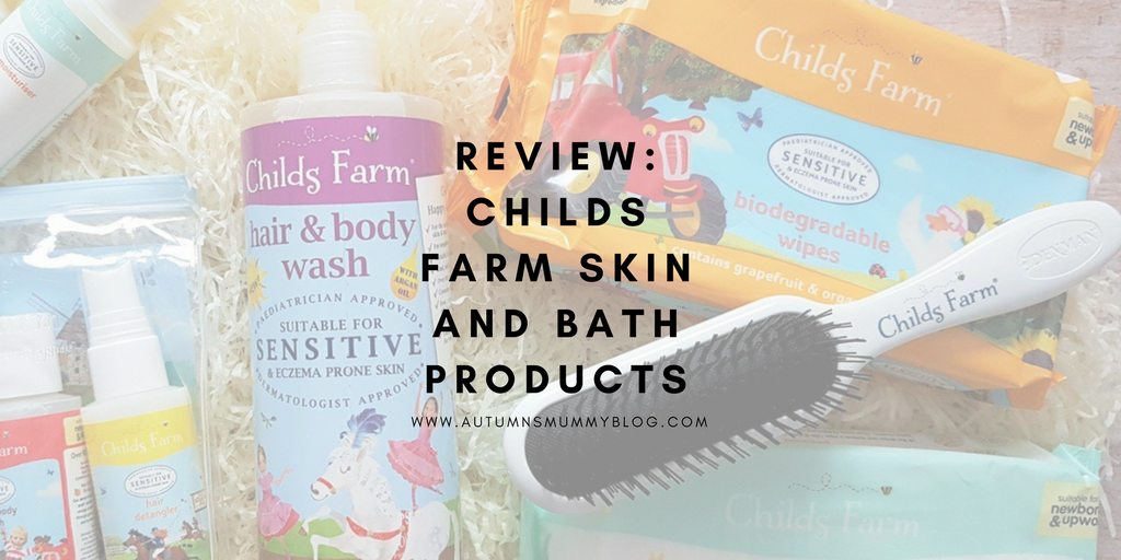 Review: Childs Farm Skin and Bath Products