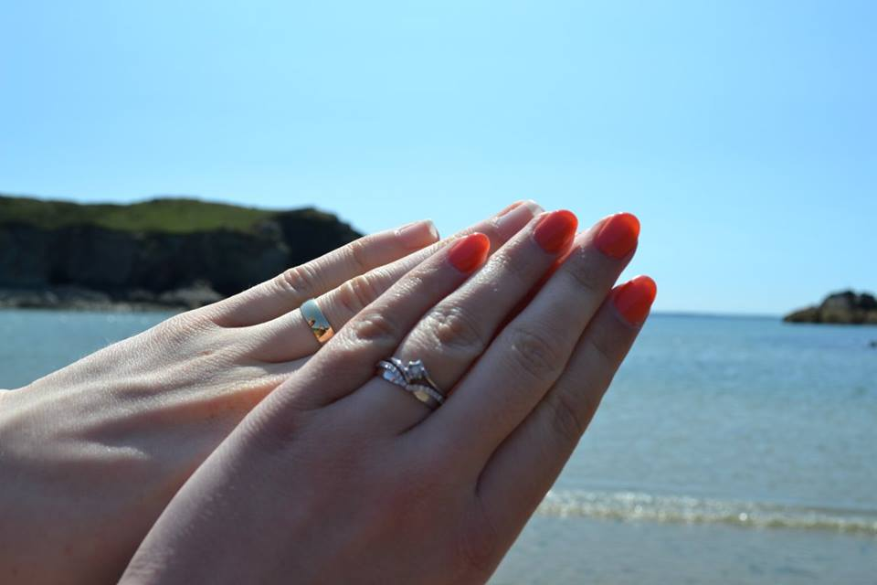 Rings in Solva, Pembrokeshire