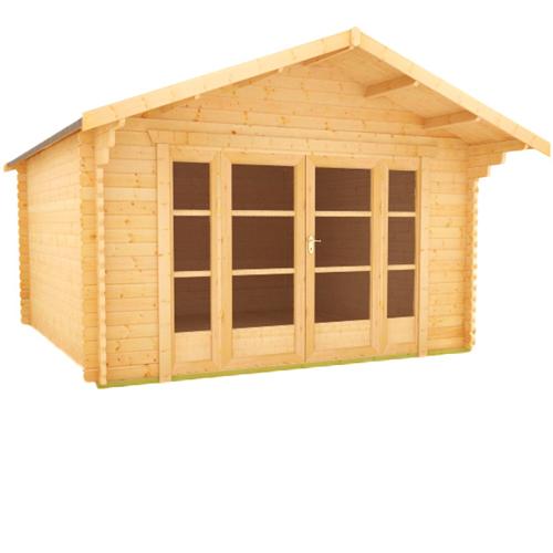 Siberian Log Cabin