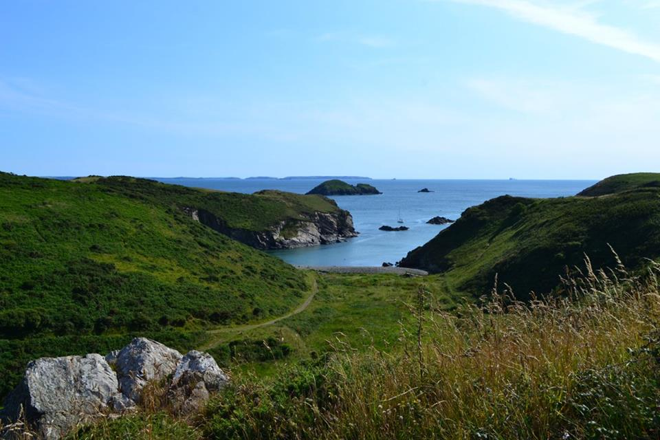 View in Solva, Pembrokeshire