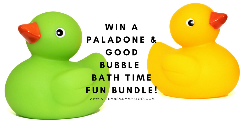 Win a Paladone & Good Bubble bath time fun bundle!