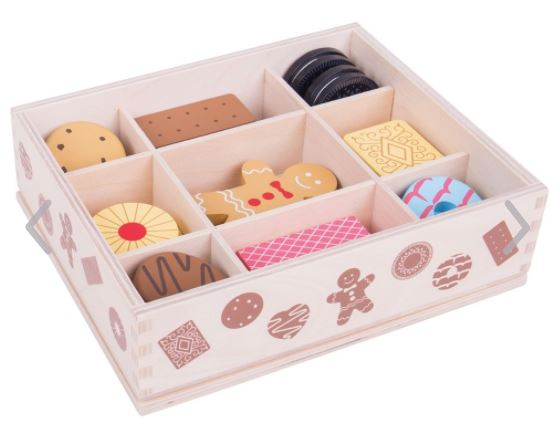 BigJigs Box of Wooden Biscuits