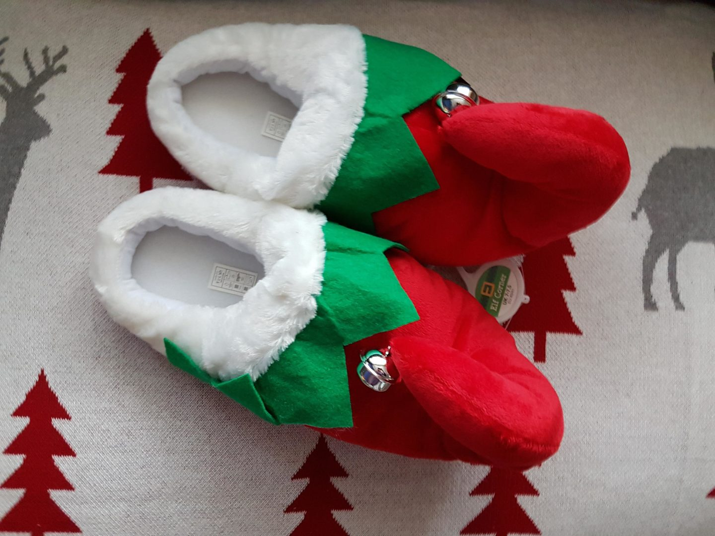 Elves Behavin Badly Elf Slippers