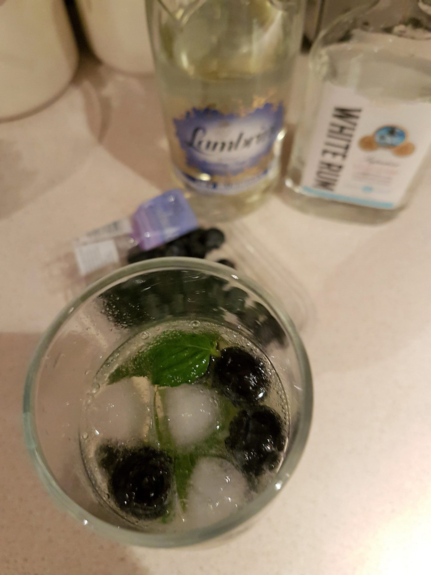 Lambrini Blueberry Mojito