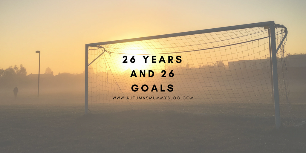 26 years and 26 goals