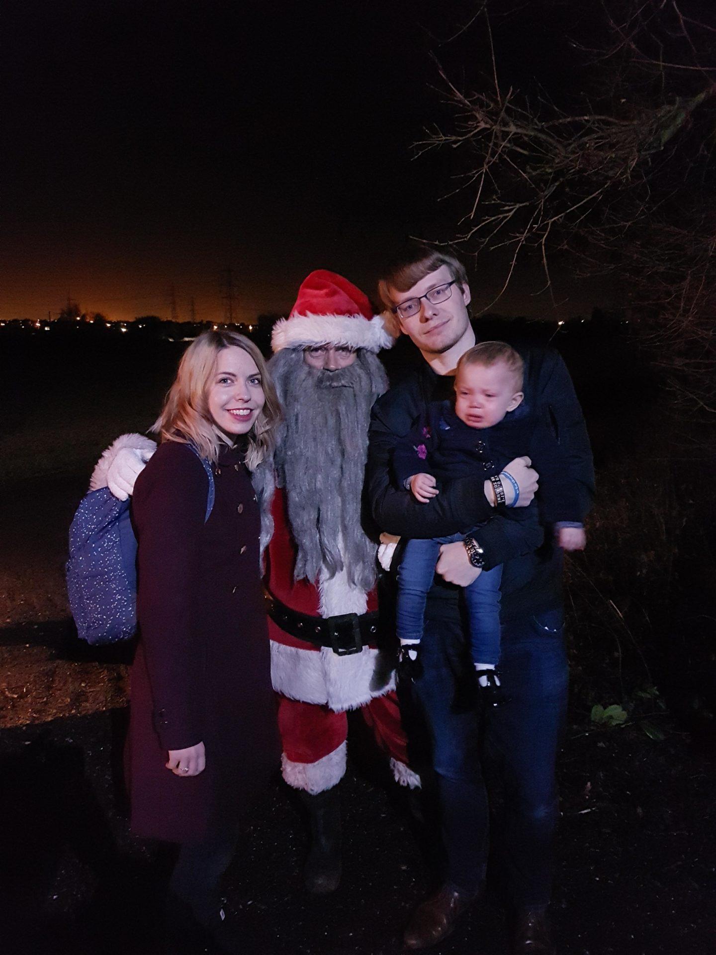 Farmer Christmas, Santa, broadditch farm