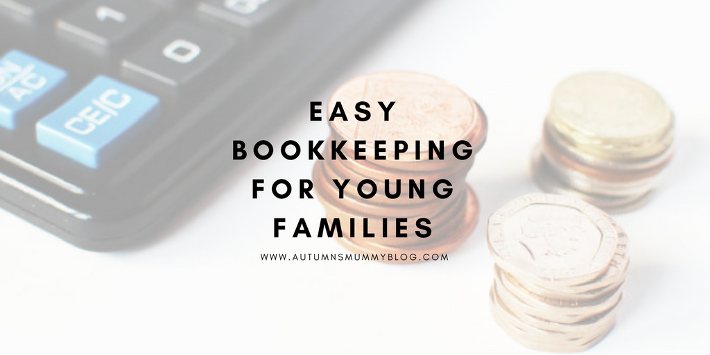 Easy bookkeeping for young families