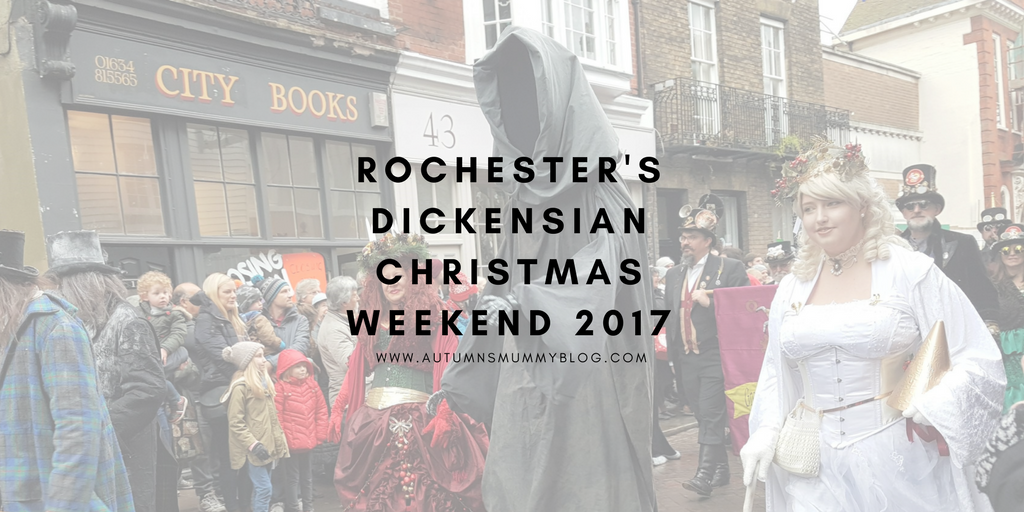 Rochester Dickensian Christmas Weekend 2017